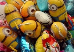 Pynt op med folieballoner